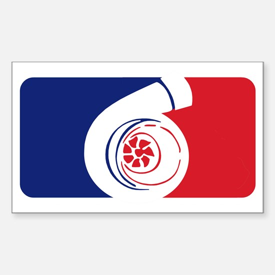 Major League Boost Sticker (Rectangle)