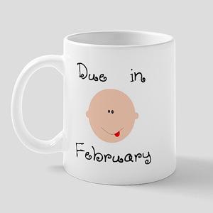 Due in February Mug