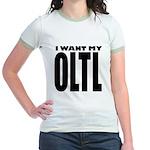 I Want My OLTL Jr. Ringer T-Shirt