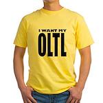I Want My OLTL Yellow T-Shirt