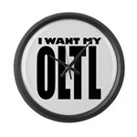 I Want My OLTL Large Wall Clock
