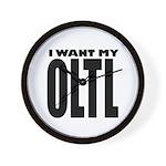 I Want My OLTL Wall Clock