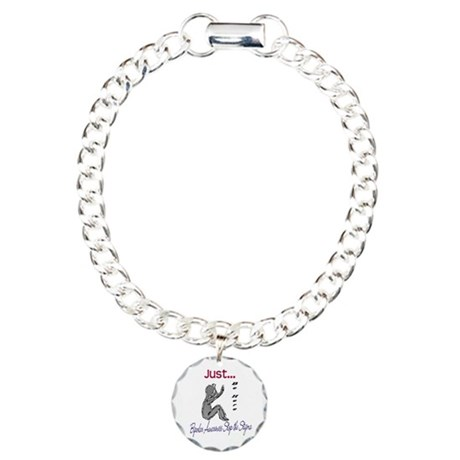 BASTS Charm Bracelet, One Charm