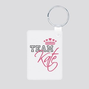 Team Kate Royal Crown Aluminum Photo Keychain