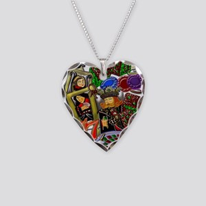 Royal Hearts Flush Necklace Heart Charm