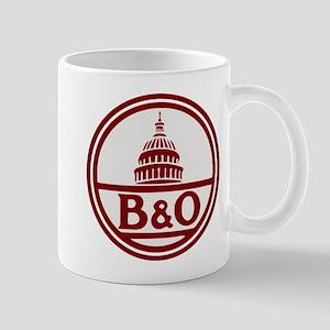 B&O railroad design Mugs