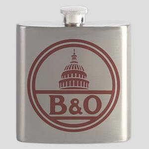 B&O railroad design Flask