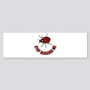 BUG OFF Sticker (Bumper)
