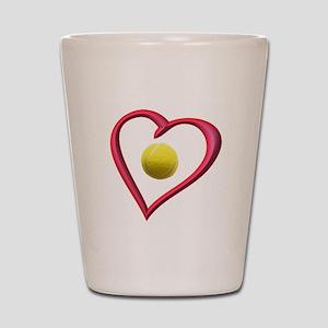 TENNIS LOVE Shot Glass
