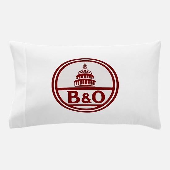 B&O railroad design Pillow Case