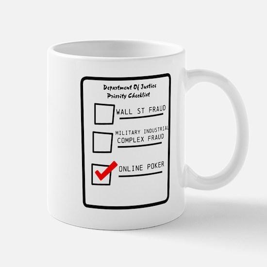 DOJ Priorities Mug