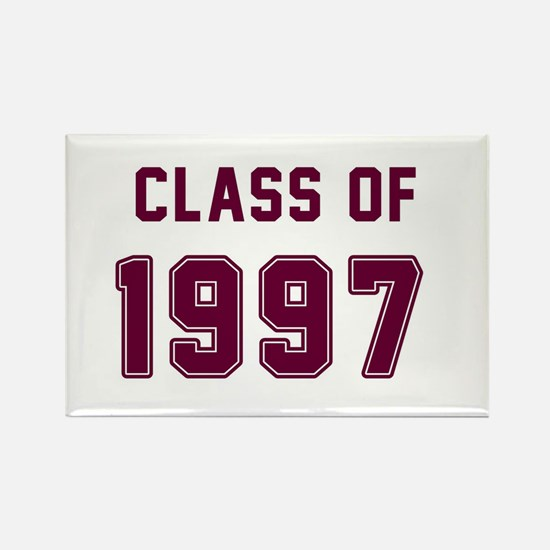 Class of 1997 Maroon Magnets