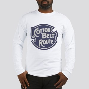 Cotton Belt Railway logo Long Sleeve T-Shirt