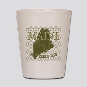 Pine Tree State Shot Glass