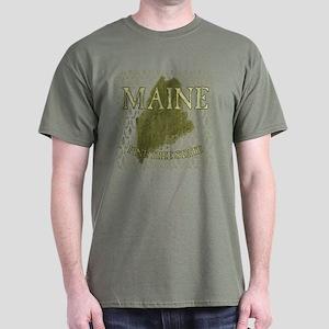 Pine Tree State Dark T-Shirt