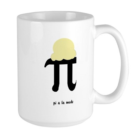 Pi a la Mode Large Mug