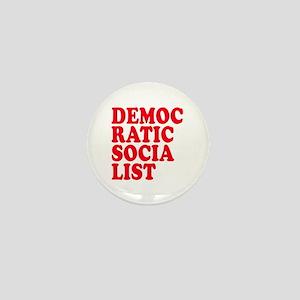 Democratic Socialist Mini Button