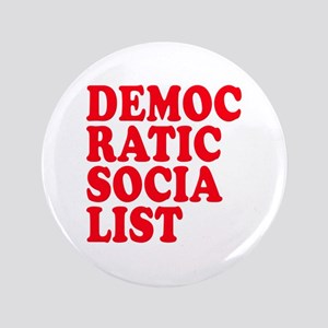 "Democratic Socialist 3.5"" Button"