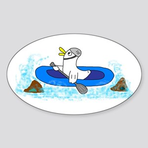 Rafting Sticker (Oval)