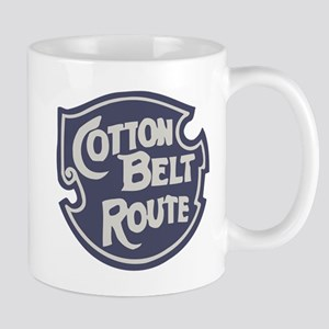 Cotton Belt Railway logo Mugs