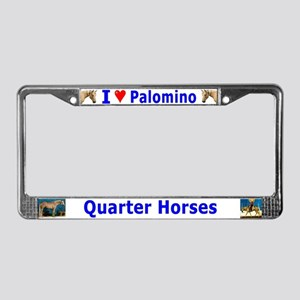 Palomino License Plate Frame