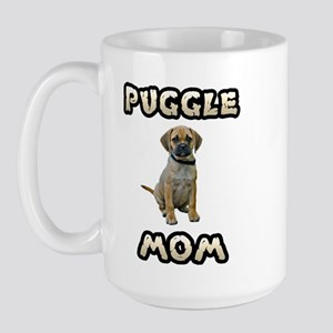 Puggle Mom Large Mug