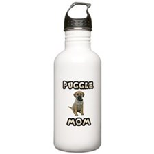 Puggle Mom Stainless Water Bottle 1.0L