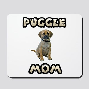 Puggle Mom Mousepad