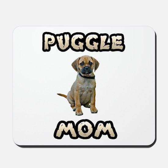 Puggle Mom Mousepad