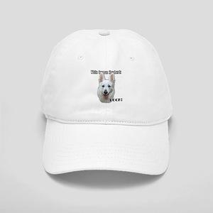 White German Shepherds Rock Cap