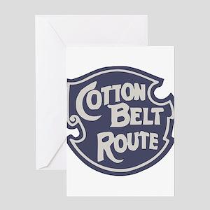 Cotton Belt Railway logo Greeting Cards