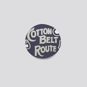 Cotton Belt Railway logo Mini Button