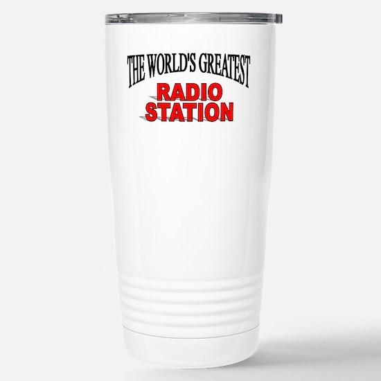 Cute Radio station Travel Mug