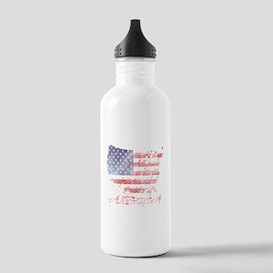 PLEDGE OF ALLEGIANCE Stainless Water Bottle 1.0L