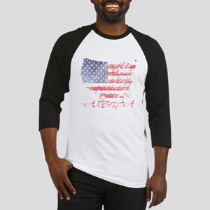 PLEDGE OF ALLEGIANCE Baseball Jersey