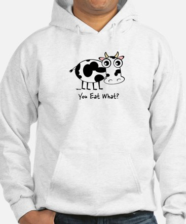 YOU EAT WHAT? COW Jumper Hoody