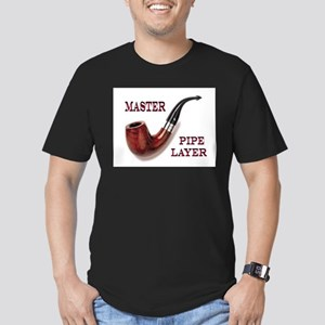 THE MASTER Men's Fitted T-Shirt (dark)