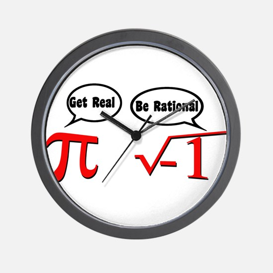 Get Real, Be Rational Wall Clock
