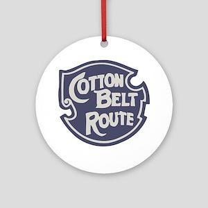 Cotton Belt Railway logo Round Ornament