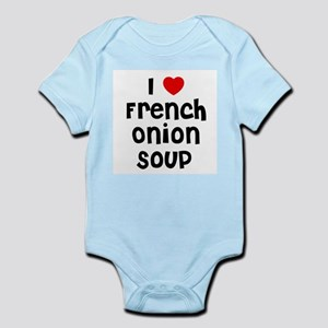 I * French Onion Soup Infant Creeper