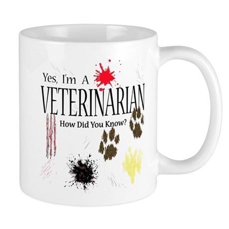 Yes I'm A Veterinarian Mug