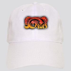 Koi Fish Tribal Cap