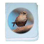 Golden-crowned Sparrow Baby Blanket