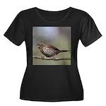 Fox Sparrow Plus Size T-Shirt