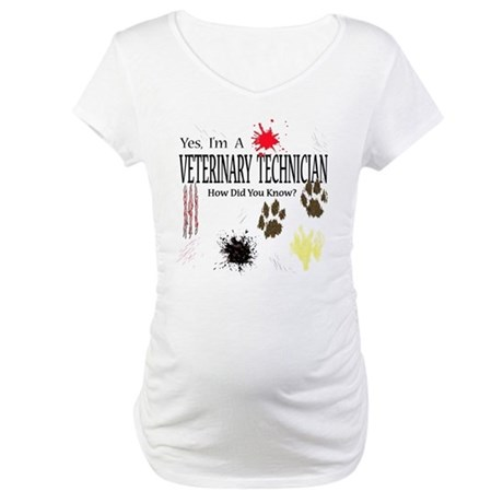 Yes I'm A Veterinary Technician Maternity T-Shirt