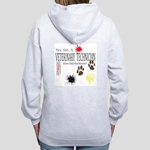 Yes I'm A Veterinary Technician Women's Zip Hoodie