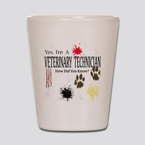 Yes I'm A Veterinary Technician Shot Glass