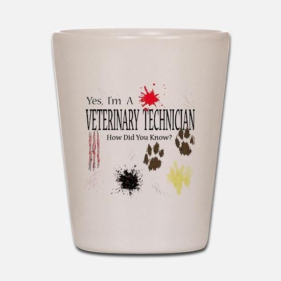 Yes I'm A Veterinary Technician Shot Glass