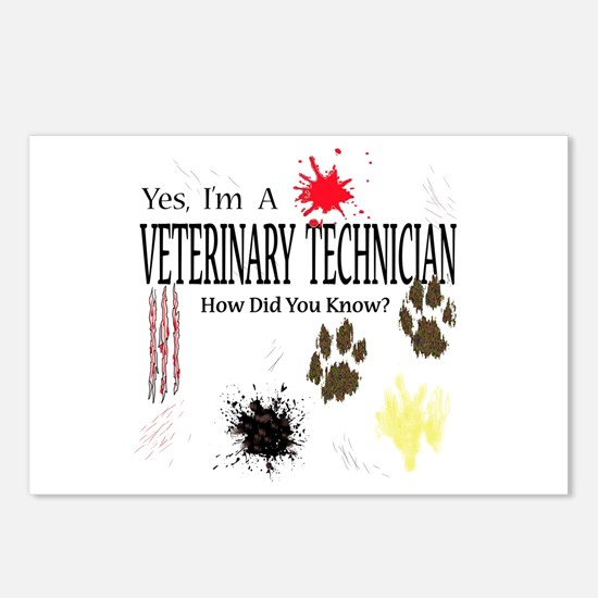 Yes I'm A Veterinary Technician Postcards (Package