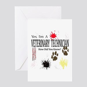 Yes I'm A Veterinary Technician Greeting Card